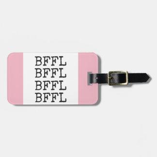 BFFLの荷物のラベル ラゲッジタグ