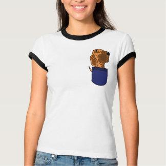 BH-小型のワイシャツのブラッドハウンド Tシャツ