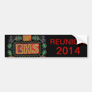 BHSの懇親会のバンパーステッカー バンパーステッカー
