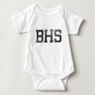 BHSの高等学校-動揺してなヴィンテージ ベビーボディスーツ
