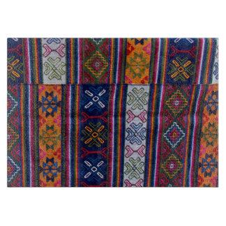 Bhutaneseの織物 カッティングボード