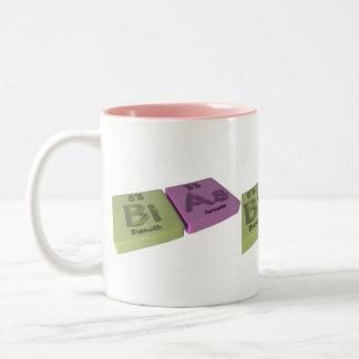 Biのビスマスとヒ素としてバイアス ツートーンマグカップ