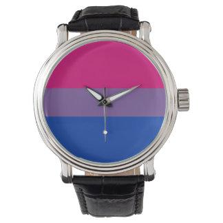 Biのプライドの旗の腕時計 腕時計