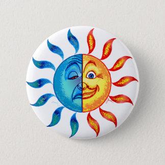 Biの北極の太陽の 5.7cm 丸型バッジ