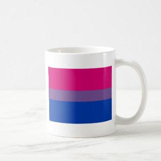 Biの旗は両性のプライドのために飛びます コーヒーマグカップ