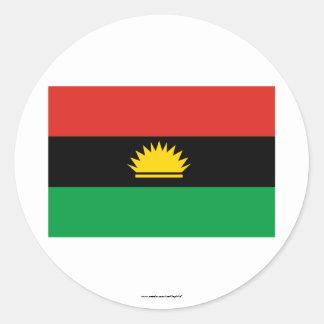 Biafraの旗(1967-1970年) ラウンドシール