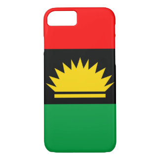 Biafra共和国の少数の人々の民族の旗 iPhone 8/7ケース