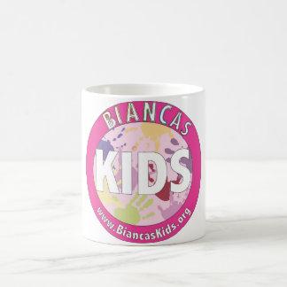 Biancaの子供のロゴのマグ コーヒーマグカップ