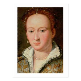 Bianca Cappello、c.1580 (銅のポートレートの油 ポストカード