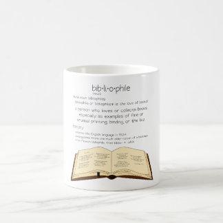 Bibliophile コーヒーマグカップ