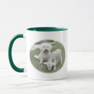 Bichonの子ヒツジ世話人のギフトの範囲 マグカップ
