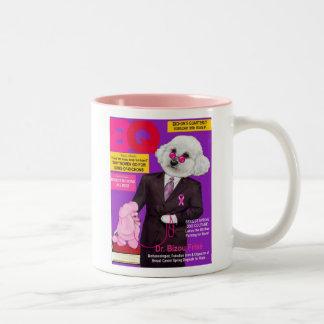 Bichonの年四回MagのマグのBizou Frise先生 ツートーンマグカップ