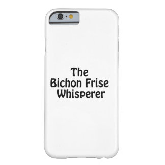 bichonのfrise whisperer.ai barely there iPhone 6 ケース