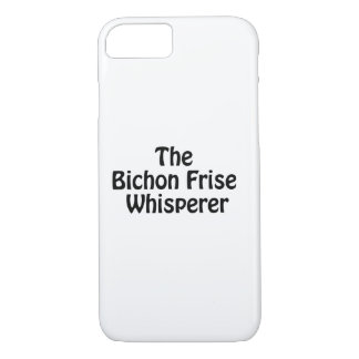 bichonのfrise whisperer.ai iPhone 8/7ケース