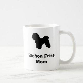"""""""Bichon Friseお母さん""""のマグ コーヒーマグカップ"""