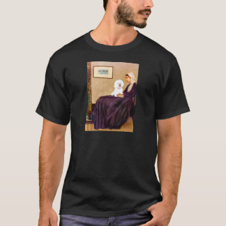 Bichon Frise 1 -ホイスラーの母 Tシャツ