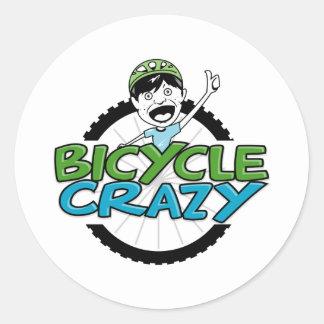 BicycleCrazy ラウンドシール