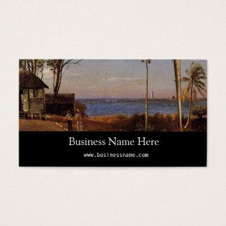 Bierstadtアルバート著バハマの眺め 名刺