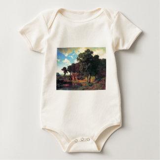 Bierstadt著素朴な製造所 ベビーボディスーツ