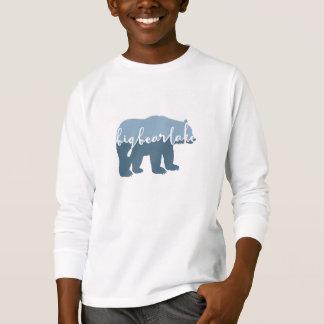 big Bear湖、カリフォルニア|の書道 Tシャツ