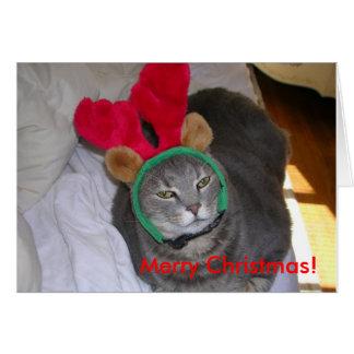 bigfatcat、メリークリスマス! カード