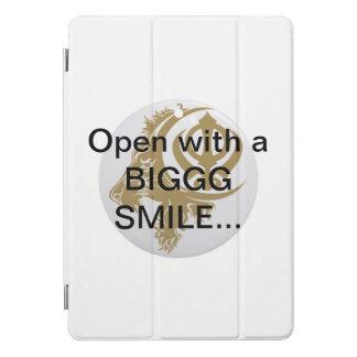 BIGGGの微笑と開いたIPadの場合の…シーク教徒のライオン… iPad Proカバー