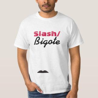 Bigote/のスラッシュ Tシャツ