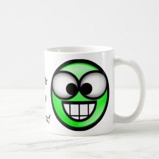 BigSmile緑 コーヒーマグカップ