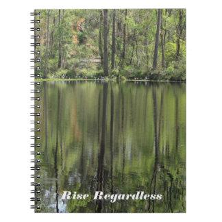 Billabongの反射 ノートブック