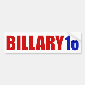 """BILLARY 16"" バンパーステッカー"