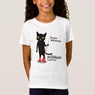 billiards cat Michell Tシャツ