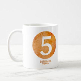billiards No.5 コーヒーマグカップ