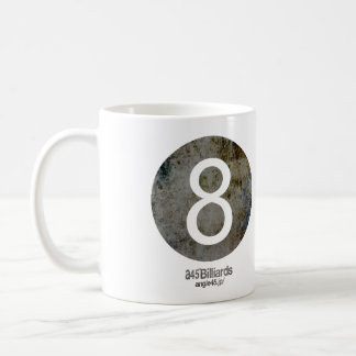 billiards No.8 コーヒーマグカップ