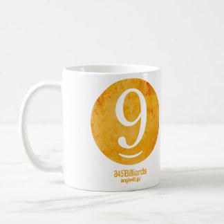 billiards No.9 コーヒーマグカップ
