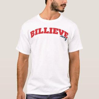 Billieve.orgの白いTシャツ Tシャツ