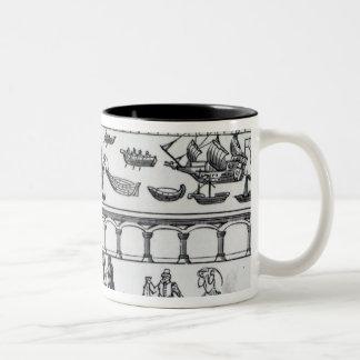 Billingsgateの市場 ツートーンマグカップ