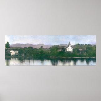 Bingham、メインの古く自由な会堂 ポスター