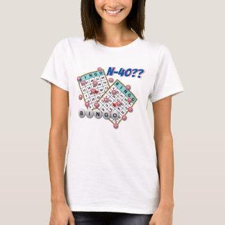 Bingo N40 Cased Las Vegas Tシャツ