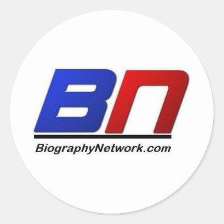 Biogrpahyネットワーク ラウンドシール