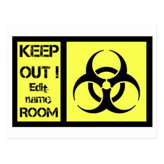 Biohazrd部屋の印 ポストカード