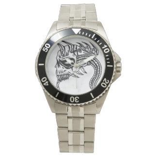biomechのスカルの腕時計 腕時計