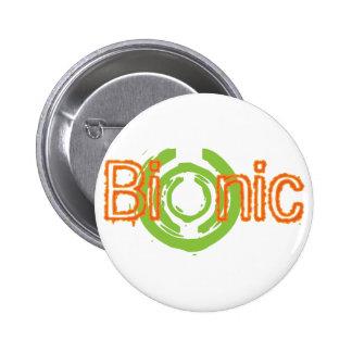 Bionic刃の鋭いロゴのティーおよびギフト 5.7cm 丸型バッジ