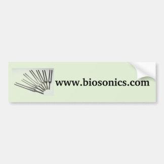 BioSonicsのバンパーステッカー バンパーステッカー