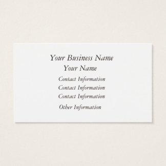 Bird Cage Rose Business Card 名刺