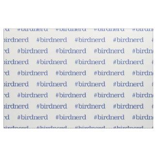 #birdnerd ファブリック