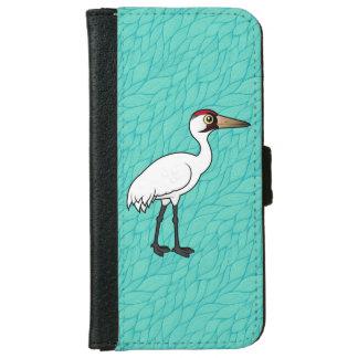 Birdorableのアメリカシロヅル iPhone 6/6s ウォレットケース