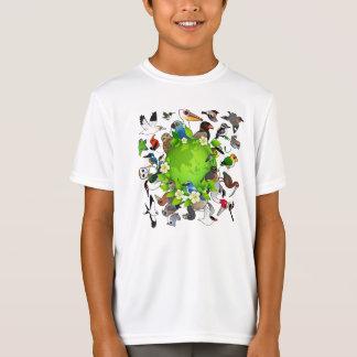 Birdorableのアースデー Tシャツ