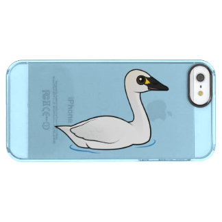 Birdorableのツンドラ白鳥 クリア iPhone SE/5/5sケース
