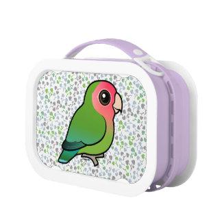 Birdorableのバラ色顔の仲の良い恋人同士 ランチボックス