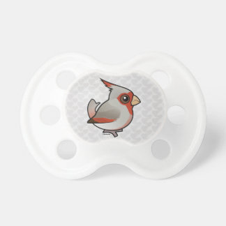 Birdorableのムネアカコウカンチョウ おしゃぶり